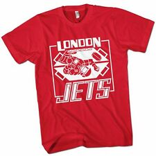 London Jets - Red Dwarf T-Shirt (RED) Dave Lister