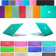 "Keyboard Cover + Rubberized Matte Hard Cover Case For Apple Macbook AIR 11"" 13"""