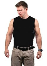 CONCEALMENT CREW NECK PACKIN' TEE HOLSTER BLACK CONCEALED CARRY HOLSTER SHIRT