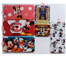 Disney Mickey Minnie Mouse Pattern Hard Case Cover For iPhone Samsung Galaxy
