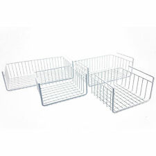 NEW! CABINET WIRE BASKET SHELF - CREATES MORE STORAGE SPACE! HANGING SHELVES