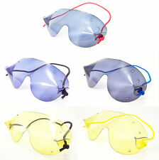 FLEXVISION MINI SkyDiving Parachute Freefall Goggles| Coloured Lens |FREE UK P+P