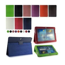 """20 x Flip LEATHER Stand Case Cover for SAMSUNG Galaxy Tab 2 10.1"""" P5100 P5110"""