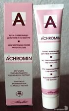 NEW ACHROMIN Skin-whitening cream UV-Protection 45ml, the original top product