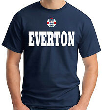 T-shirt maglietta tees WC0684 EVERTON ENGLAND CITY COUNTRY