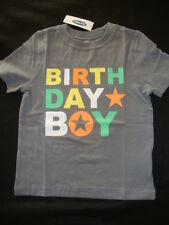 OLD NAVY /  BIRTHDAY BOY GRAPHIC   TEE SHIRT NWT  BIRTHDAY PARTY SHIRT