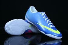 NIKE MERCURIAL VICTORY IV IC INDOOR SOCCER FUTSAL CR7 SHOES NEPTUNE BLUE