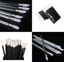Disposable Lip Brush Gloss Wands Applicator Lipstick Make Up Cosmetic Tool set
