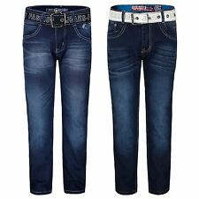 KIDS BOYS CLASSIC SKINNY JEANS BOTTOMS DENIM TROUSERS CASUAL PANTS 5-16 YEARS