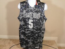 Nike Jordan Jumpman Georgetown Hoyas Authentic On Court Basketball Jersey #5