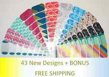 JAMBERRY Nail Wraps - 43 New 2015 Spring/ Summer Designs - Half sheets