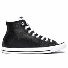 Converse CT All Star Shearling Hi Black White Womens Boots - 144726C