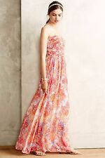 NWT Anthropologie Vernalis Maxi Dress Sz 0 and 14 - by By Moulinette Soeurs