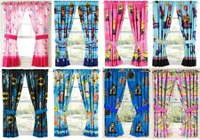 KIDS GIRLS BOYS WINDOW CURTAINS DRAPES-MULTIPLE DISNEY CHARACTERS/TV CHARACTERS
