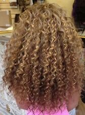 Custom Pre-Tip Russian #4/30/613 Double Drawn Curly Human Hair U-Tip Extensions