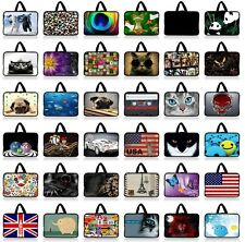"""7"""" inch Tablet PC Laptop Ebook Reader Sleeve Pouch Soft Case Neoprene Bag Handle"""