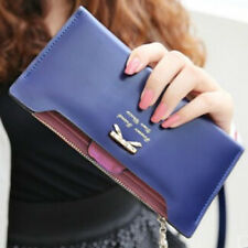 Lovely Women Lady Girl PU Leather Zip Wallet Bag Card Money Soft Purse Bag New