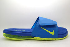 [631260-470] NIKE AIR LEBRON SLIDE 3 ELITE MENS SLIPPER NIKEPHOTO BLUE/VOLT-HYPE