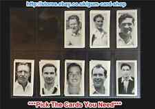 ☆ Kane Products Ltd - Cricketers 1st Series 1956 (VG) *Pick the Cards You Need*