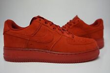 (718152-601) MEN'S NIKE AIR FORCE 1 '07 LV8 GYM RED/GYM RED RED OCTOBER