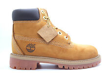 [12709-] TIMBERLAND 6'''' PREMIUM CONSTRUCTION BOOT PRE-SCHOOL SHOES WHEAT SUEDE