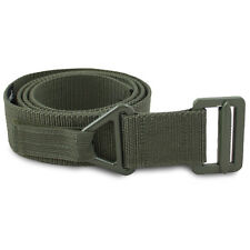 NEW Combat Military Army Tactical Rigger Belt w/ Double Retention Velcro Green