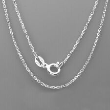 "925 Sterling Silver Cable chain Necklace for pendant 16"", 18"",20"", 22"" and 24"""