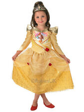 NEW Disney Princess Belle Shimmer Beauty & The Beast Fancy Dress Costume