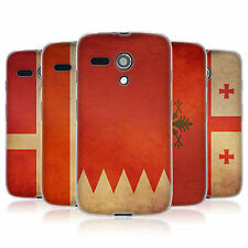 HEAD CASE VINTAGE FAHNE SET 6 GEL CASE FÜR MOTOROLA MOTO G