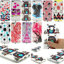 for Samsung Galaxy Phone Rubber Silicone Clear Soft TPU Cute Back Cover Case New