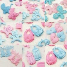 100 Fabric Applique for Scrapbooking & Baby Shower Bib/Pacifier/Pram/Baby Bottle