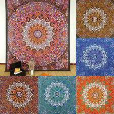 LARGE SELECTION - STAR INDIAN HIPPIE MANDALA PSYCHEDELIC TAPESTRY BEDSPREAD WALL