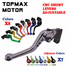 CNC Racing Short Brake Clutch Levers For BMW R1200ST 2005-2008 R1200GS 2004-2012