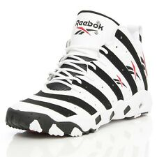 REEBOK TECH 90S TRAIN BIG HURT MEN'S WHITE/BLACK SHOES ALL SIZES, #V55132
