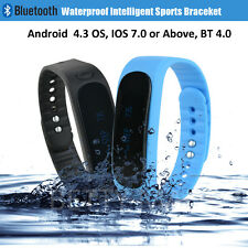 Bluetooth Waterproof Smart Wrist Watch Bracelet OELD IP67 Pedometer Sport Tracke