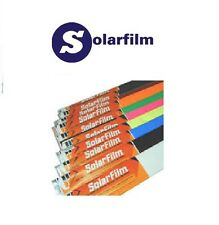 SOLARFILM iron on rc film covering ALL COLOURS and LENGTHS,  Combined postage
