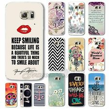 Beautiful Pattern Hard PC Case Cover for Samsung Galaxy S6/S6 Edge/Note 4