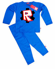 NEW STARDUST KIDS CHILDRENS BOYS GIRLS: ROBLOX PYJAMAS (BLUE)