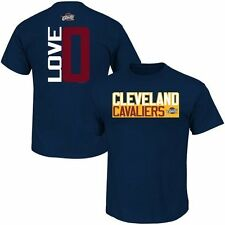 Kevin Love Cleveland Cavaliers Navy Blue Vertical Name & Number T-Shirt
