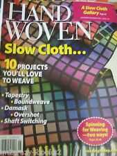 Handwoven Magazine 2010 - 2014 Multiple Listings Weaving Pattern Projects Design