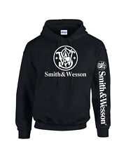 Smith and Wesson Hoodie Pro Gun Brand Sweater 2nd Amendment Free Shipping&Decal2