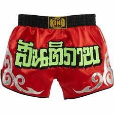 TOP KING Retro Muay Thai Fighting Kickboxing Boxing Shorts Youth TKRMS-001