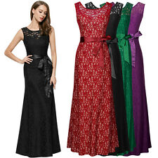 Womens Long Sexy Maxi Evening Bridesmaid Formal Party Ball Gowns Prom Dresses