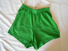 EMERALD GREEN~FOREST GREEN GYM SHORTS~SOFFE~Womens Size XSmall