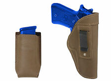 New Barsony Olive Drab IWB Holster + Mag Pouch Astra Beretta Full Size 9mm 40