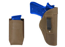 New Barsony Olive Drab IWB Holster + Mag Pouch Smith&Wesson Full Size 9mm 40 45