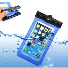 Waterproof Dry Pouch Bag Case Cover Compass For Samsung Galaxy S6/S5 Note 2/3/4