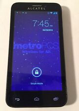 ALCATEL OneTouch Fierce 4G (T-Mobile) Android Smartphone - Blue Grey Clean