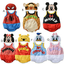 BABY BOYS GIRLS DISNEY COSTUME HAT SET ROMPER OUTFIT CLOTHES SET PHOTOGRAPHY TOP
