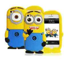 Despicable Me Minion Silicone Gel Case Cover For iPhone 4 4s